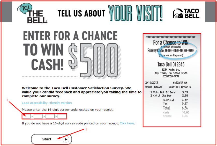 TelltheBell Survey Sweepstakes Steps Guide 2018